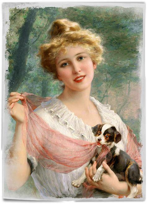 vintage woman art  image  pixabay