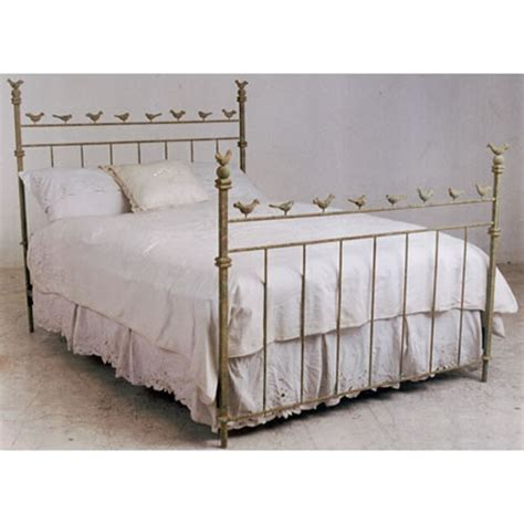 Iron Bed by Chirping Birds Iron Bed By Corsican Iron Furniture