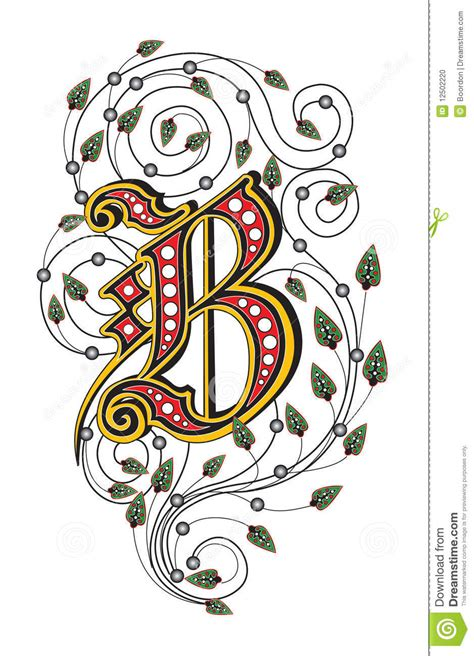 letter b stock photo image 12502220