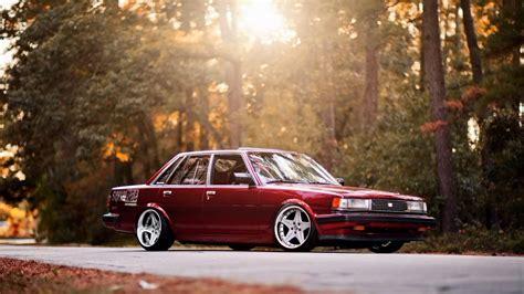 classic toyota cars toyota tuning toyota cressida classic road light tree hd