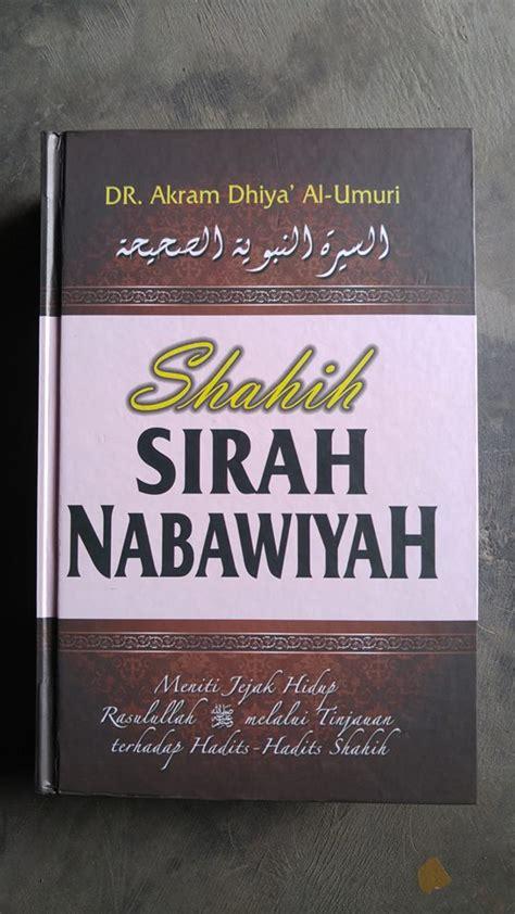 buku shahih sirah nabawiyah toko muslim title