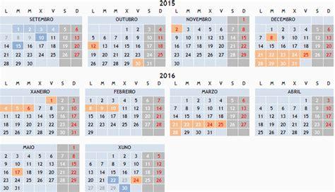 Calendario Xunta 2015 Calendario Escolar 2015 2016 Conseller 237 A De Cultura