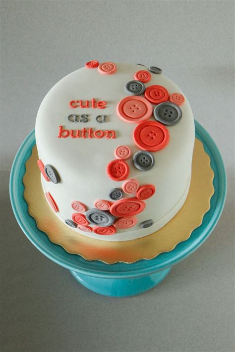 Baby Shower Cake Ideas For A by Best 25 Button Cake Ideas On Babyshower Cake