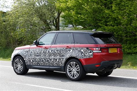 range rover sport 2017 2017 range rover sport facelift spied inside out