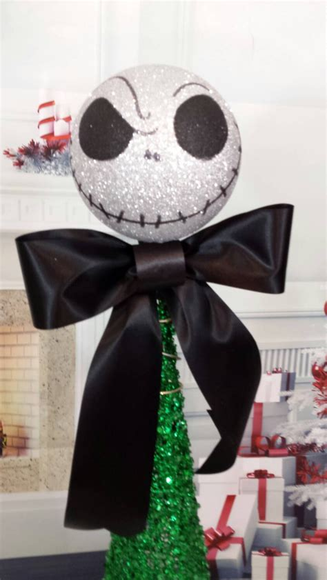 nightmare before christmas tree topper nightmare before tree topper by themusecreations