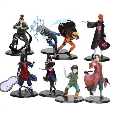 Figur Sasuke Hinata Kisame 2pcs set anime uchiha madara uchiha sasuke pvc figures model toys
