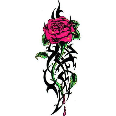 rosen tattoo zeichnung clipart best