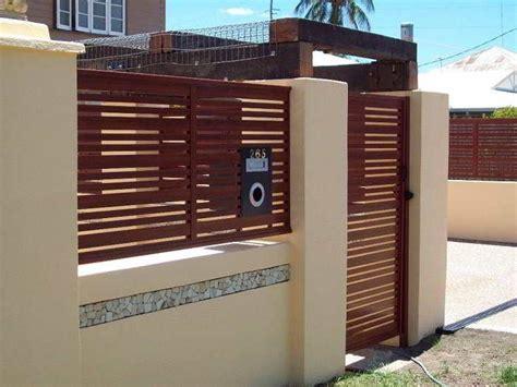 warna cat pagar rumah krem eksterior