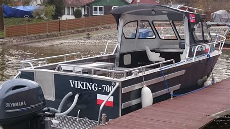 viking offshore boats viking 700 ph aluboot buy used powerboat offshore boat