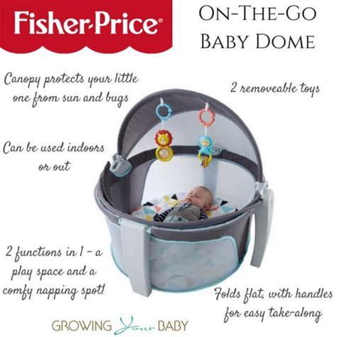 perfect for on the go fisher price s baby dome