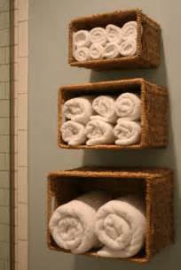 Bathroom Wall Storage Ideas Diy Wall Storage Solution For Bath Linen Shelterness