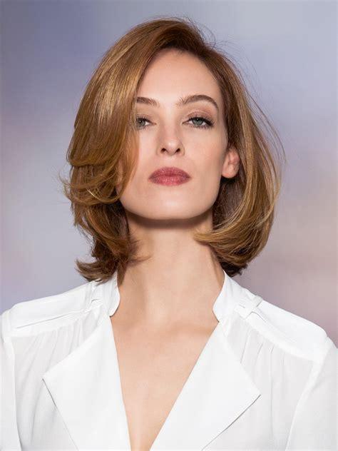 frisuren mittellang schulterlange haare  frisuren