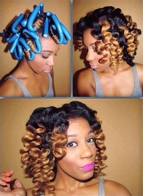 double stranded rods hairstyle 72 best images about flexi rod hairstyles on pinterest