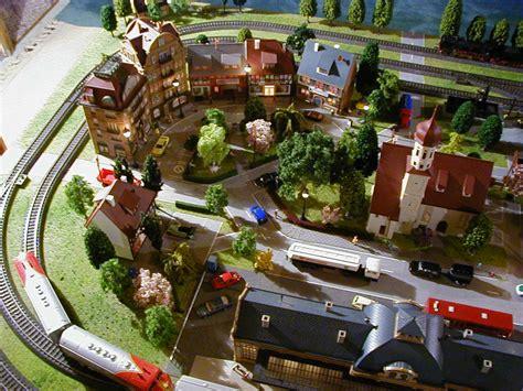 marklin ho scale model train layout