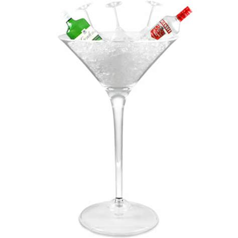 giant cocktail lsa maxa giant cocktail glass 264oz 7 5ltr single