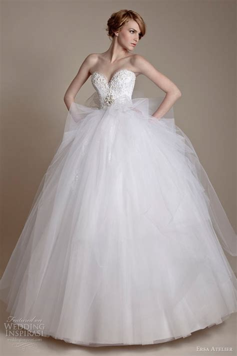 Tulle Wedding Dresses by Turmec 187 Lace And Tulle Sleeve Wedding Dress