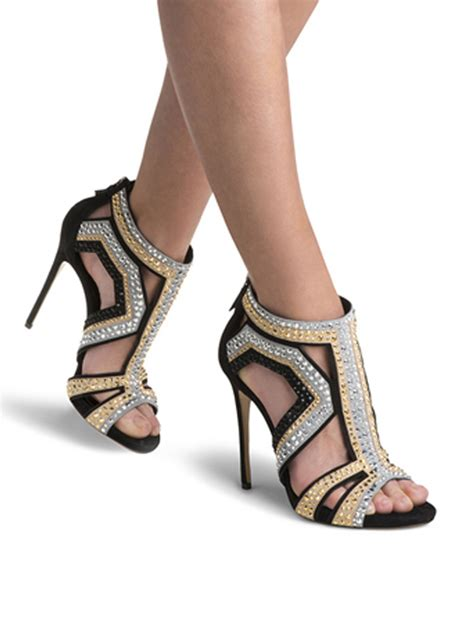 Evening Shoes by Designer Evening Shoes Sandals Cuts Out 0704