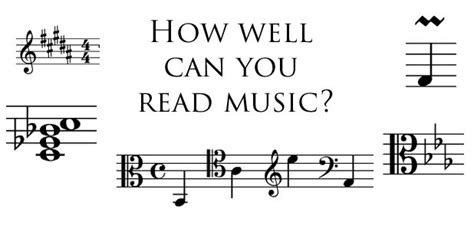 how to read comfortably quiz how well can you read music classic fm