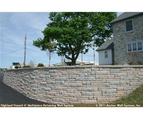 interlocking garden wall blocks landscaping should a 3 4 retaining wall