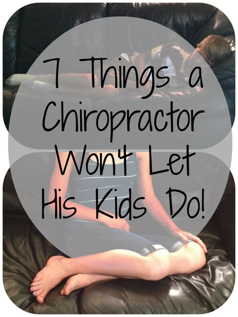 7 Things To About His Parts by 7 Things A Chiropractor Won T Let His Do Some Call