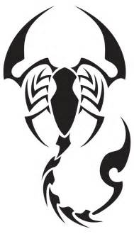 Scorpion Tribal Outline by Scorpion Drawings Clipart Best
