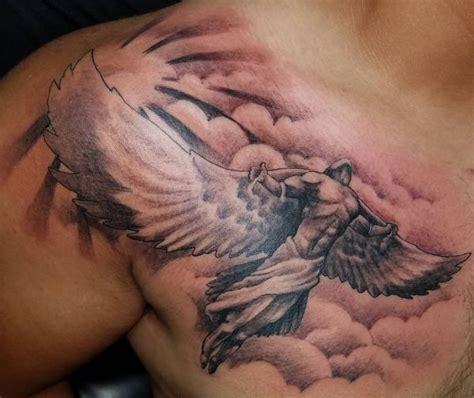 engel tattoo designs mit bedeutungen 30 ideen