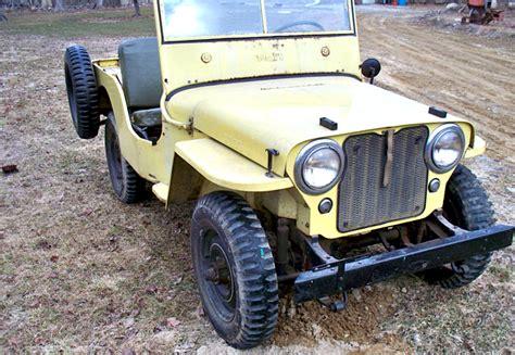 46 Willys Jeep Got The Willys 46 Willys Jeep Cj 2a Mint2me
