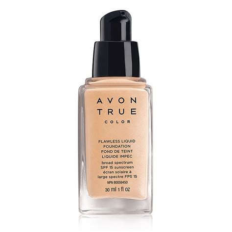 Foundation Avon Best Liquid Foundation By Avon True Colour Flawless