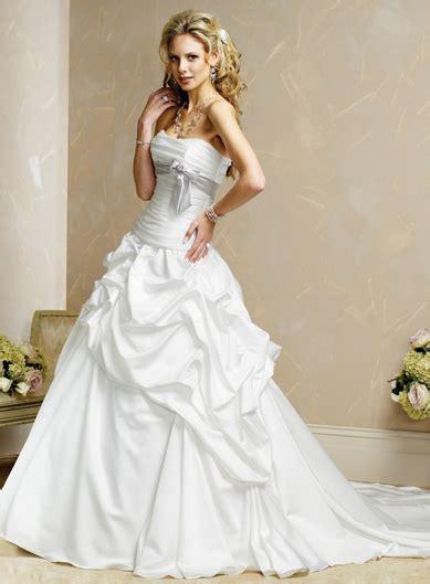 Strapless White Wedding Dresses by Strapless White Wedding Dress Sang Maestro