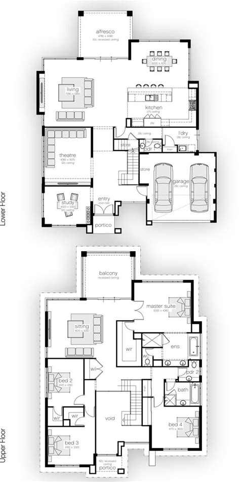 drawing a house plan 25 best ideas about 4 bedroom house plans on pinterest