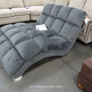 shaped chaise double chaise lounge indoor fabric costco  grey ceramic living room flooring