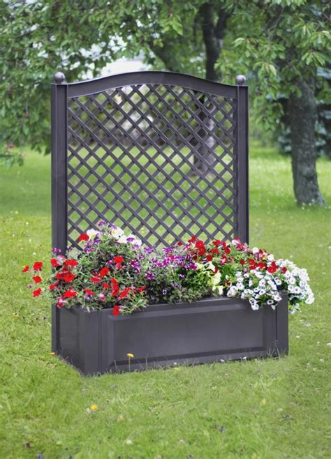bac treillis jardiniere claustra anthracite pvc livraison offerte syma