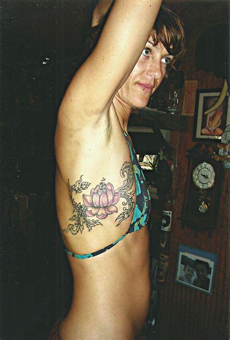 lotus tattoo koh phangan purple lotus flower big magic tattoo koh phangan thailand