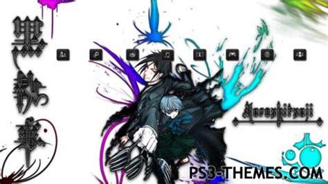 theme line black butler ps3 themes 187 black butler