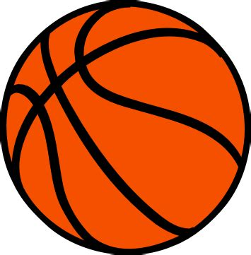 free clipart basketball basketball clipart clipartion