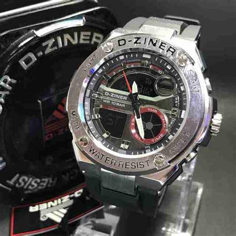 Jam Tangan D Ziner Original 8119 Water Resist Jam Tangan Pria jam tangan d ziner 8132 original rubber delta jam tangan
