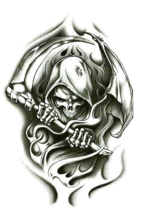 full body grim reaper tattoo 38 best skull tattoos images on pinterest