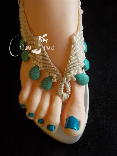 Macrame And Crochet - sandalias macrame crochet and macrame patterns