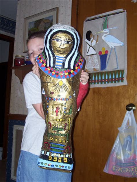 How To Make A Paper Mache Mummy - learning together papier mache mummy