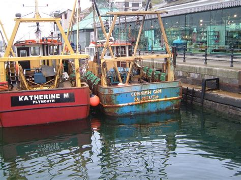 licensed fishing boats for sale uk file fishing boats at sutton harbour plymouth geograph