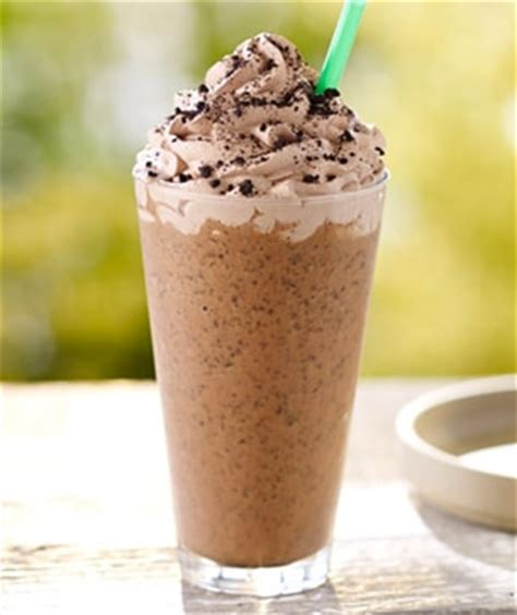 Mocha Cookie Crumble Frappuccino® blended beverage   Starbucks Coffee Company