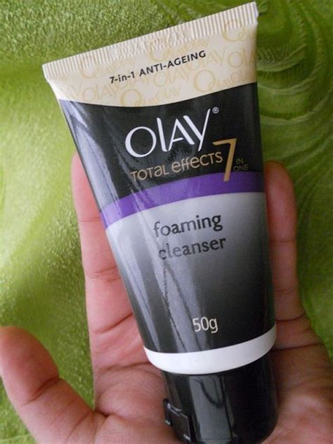 Olay Total Effect Foam olay total effects 7 in 1 anti ageing foaming cleanser
