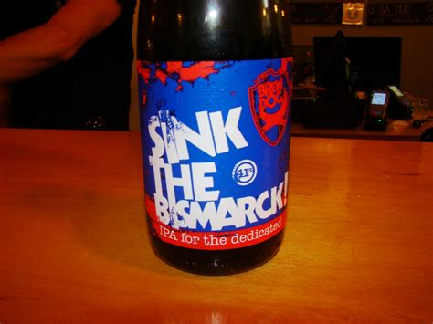 brewdog the bismarck brewdog tactical nuclear penguin i the bismarck