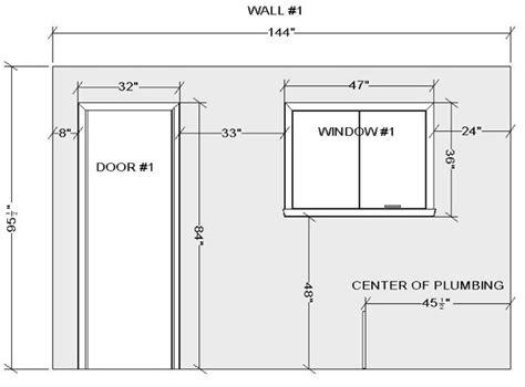 standard kitchen window size kitchen design bath design