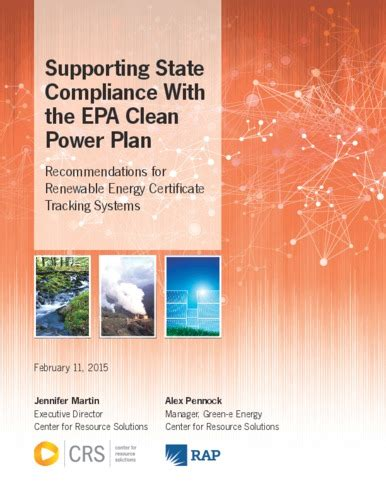 epa clean power plan supporting state compliance with the epa clean power plan