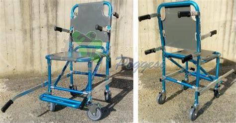 sedia portantina usata sedia portantina 4 ruote con poggiapiedi e braccioli 5g