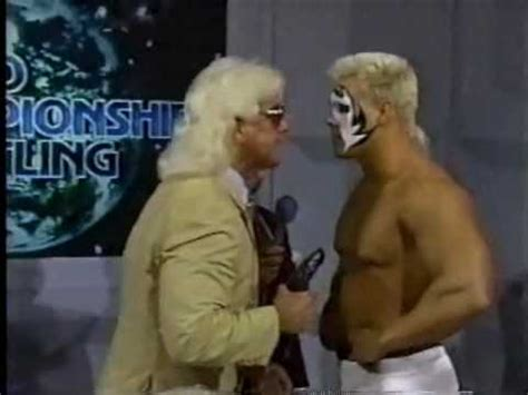 what ifric flair helped dusty rhodes after the cage match dusty rhodes and nikita koloff promo doovi