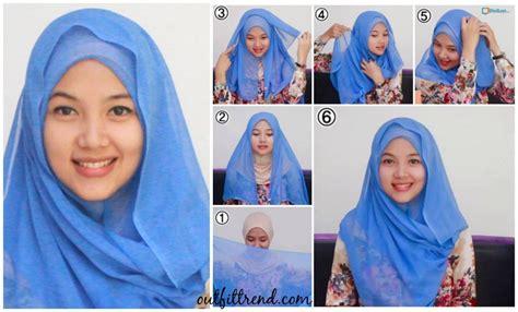 simple hijab paris tutorials
