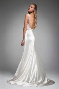 silk wedding dress wedding dresses photos quot quot back by janks inside weddings