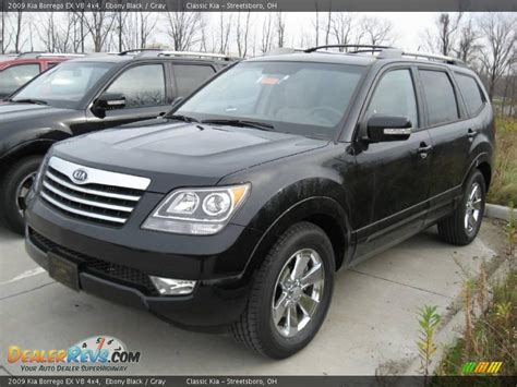 Kia Borrego V8 2009 Kia Borrego Ex V8 4x4 Black Gray Photo 2
